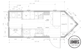 tiny house trailer floor plan wonderful plancher the prototype