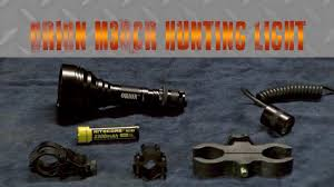 wicked hunting lights amazon orion m30cr hunting light test and review the bullet points youtube
