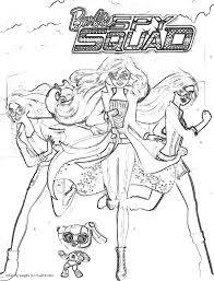 barbie spy squad coloring pages 7 barbie spy squad coloring