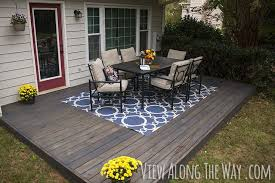 awesome concrete patio covering ideas diy wood patio with diy