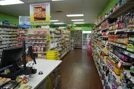 7eleven check out cashier check out desk supermarket grocery