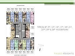 typical floor plan 1 megaworld condominiums