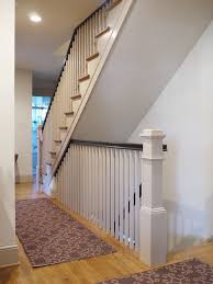open basement stairs craftsman staircase idea in dc metroopen