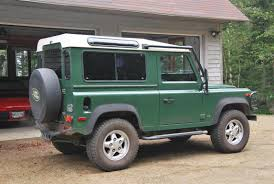 green station wagon 1995 land rover defender 90 station wagon for sale the motoring