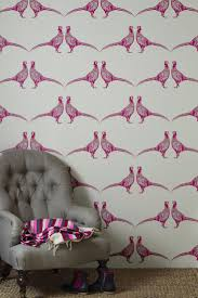 gorgeous pheasant wallpaper design by barnaby gates for the home