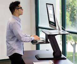 Standing Or Sitting Desk by Amazon Com Mount It Sit Stand Desk Converter Ergonomic Height