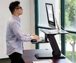 Standing Sitting Desk by Amazon Com Mount It Sit Stand Desk Converter Ergonomic Height