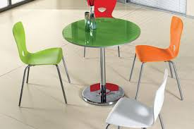 Table Verre Pied Central by Pieds De Table Luisina