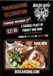 thanksgiving 2017 picture of bodean s bbq soho