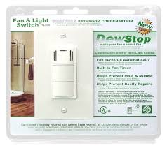 dewstop fs 200 condensation control sentry fan and light switch