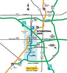 Map Of Orlando Fl Orlando Florida Area Maps