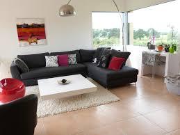 salon avec canapé noir splendide de maison tendance pour ce qui est de salon avec canape