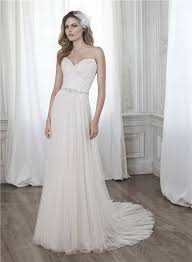 a line sweetheart ruched tulle applique corset wedding dress