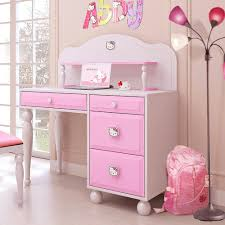 Bedroom Design For Girls Pink Hello Kitty Bedroom Design Small Bedroom Design With Small Girls Desks And