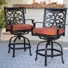 Patio Bar Chairs Outdoor Bar Stools Patio Swivel More Hayneedle