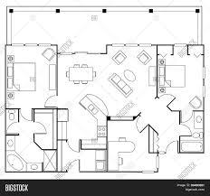 residential floorplan stock vector u0026 stock photos bigstock