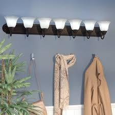 6 or more light bathroom vanity lighting you ll wayfair