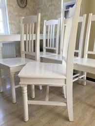 Preloved Reception Desk Four Vintage Fiddleback Dining Chairs For Sale In Horsmonden