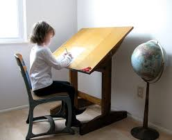 Artist Drafting Tables Wonderful Vintage Drafting Table Children U0027s Artist Table Circa