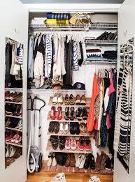closet organization cleaning declutter tips