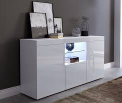 white gloss doors white matt cabinet cupboard display sideboard