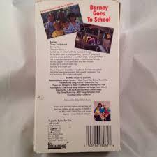 Vhs Barney U0026 Backyard Gang by Barney Backyard Gang Goes To Vhs 1989 What U0027s It Worth