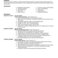 Resume Template Livecareer Best Residential House Cleaner Resume Example Livecareer