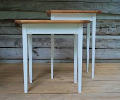 Pine Table Heart Pine End Table Old Soul Goods