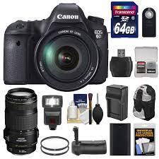 canon 6d black friday 2017 canon eos 6d dslr camera with 24 105mm f 4l lens walmart com
