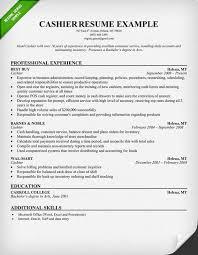 Example Resume Retail by 28 Retail Cashier Resume 15 Cashier Resume Templates Free