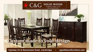 about us c g solid wood furniture in cambridge ontario