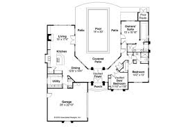 mediterranean house plans with courtyards baby nursery house plans with enclosed courtyard mediterranean