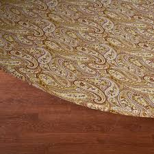 Elasticized Table Cover Paisley Elasticized Table Cover Kitchen Miles Kimball