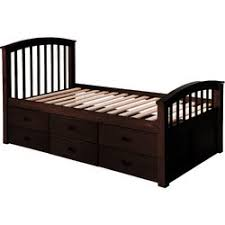Platform Beds Twin by Merax Solid Wood Storage Twin Platform Bed With 6 Drawers