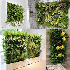vertical gardening hanging wall 12 pockets planting bags seedling