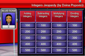 integer directed numbers games passy u0027s world of mathematics