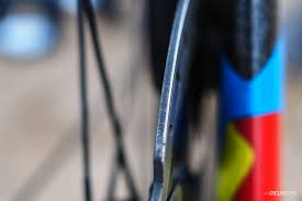 how to dress pro cyclingtips did a disc rotor slice owain doull u0027s shoe at abu dhabi tour it u0027s