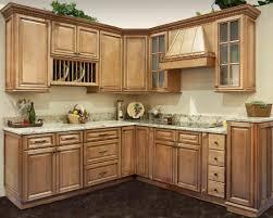 kitchen cabinet art small kitchen design with u shaped light brown oak wood cabinet