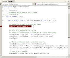 tutorial oracle stored procedure using net stored procedures in oracle