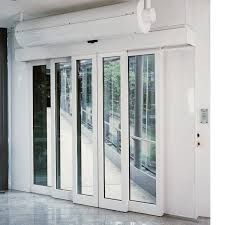 Commercial Glass Sliding Doors by Dorma Tst R Automatic Telescopic Sliding Door With Standard Frame