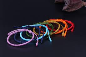 knot rope bracelet images 7 chakra lucky handmade buddhist knots rope bracelet project jpg