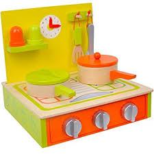 jouet en bois jeu d imitation cuisine en bois avec accessoires