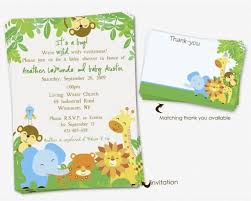 free printable safari baby shower invitations theruntime