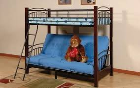 Detachable Futon Wood And Metal Bunk Bed Furniture Mattress Direct - Used metal bunk beds