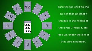 how to play clock solitaire