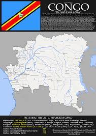Republic Of Congo Map Imaginary Map Of A Future United Republic Of Congo X Post R
