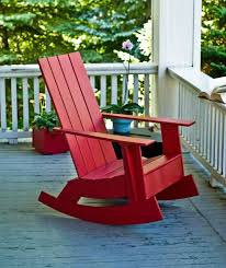 Red Rocking Chairs 15 Outdoor Rocking Chairs For Front Porch