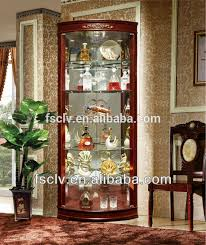 wood and glass corner display cabinets affordable white wooden