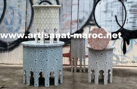deco salon marocain objet déco pour salon marocain cendriers boutique artisanat