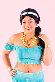 diy jasmine from aladdin halloween costume brit co